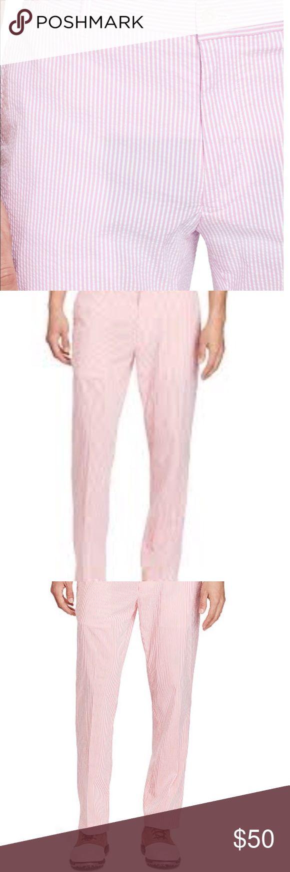 Polo fashion pas cher polo ralph lauren femme france polo de marque - Men S Polo Ralph Lauren Brand New Pink Seersucker Pants By Polo Ralph Lauren Size 36