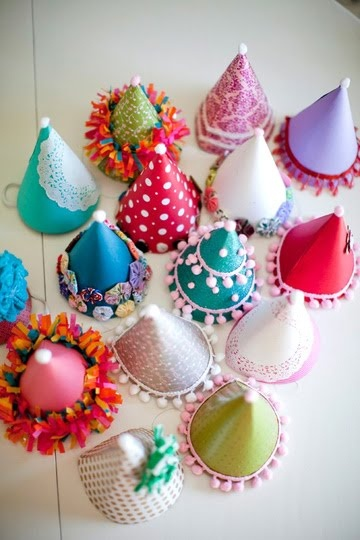 1001 idéias bacanas para festinhas em casa: Craft, Party'S, Birthday Parties, Party Hats, Party Ideas, Diy Party, Kid, Birthday Party