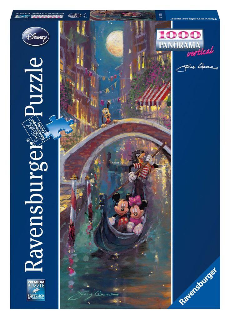 Ravensburger Puzzle 1000 pieces - Romantic Venice, Disney - (code 15055)
