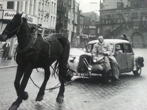 Zondagsverbod liep van 25 Nov. 1956 tot en met 20 Januari 1957.