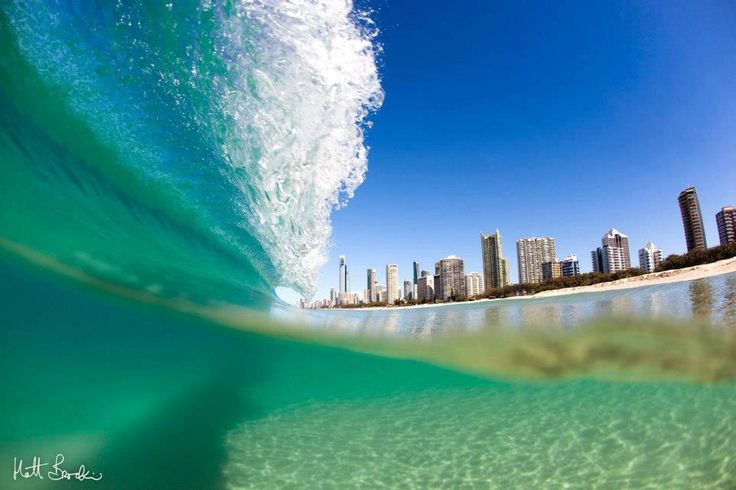 Gold Coast, Australia is Famous For Fun and is a major tourist destination with its sunny subtropical climate, surfing beaches, canal and waterway systems, its high-rise dominated skyline, theme parks, nightlife, and rainforest hinterland.. Gold Coast will host the 2018 Commonwealth Games.