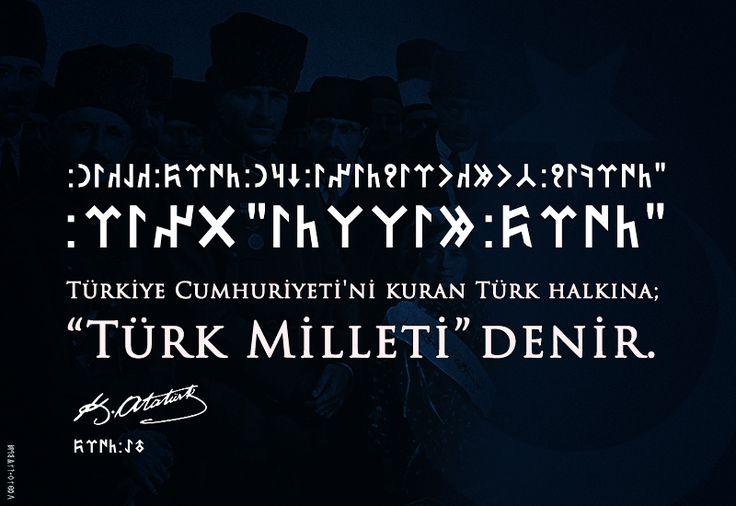 """""""Türk Milleti"""""""
