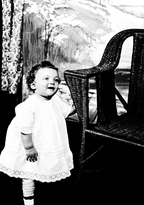 Dean Martin as a baby, 1918