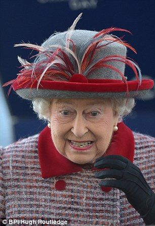 The Queen pictured at the Queen Elizabeth ll Stakes at Ascot 15 Oct 2016