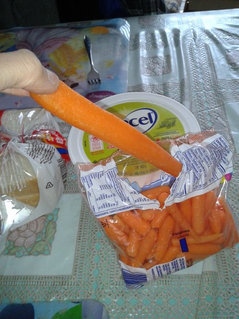 What's happen with you carrot ? ...