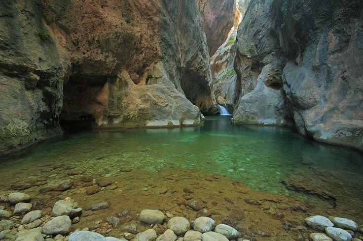 Paisajes de Andalucía. (Parque Natural Sierras de Cazorla, Segura y Las Villas)