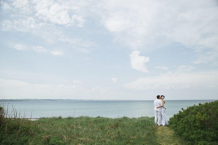 Beach wedding in denmark. destination wedding planner www.getmarriedindenmark.com I Photo by www.camillajorvad.com