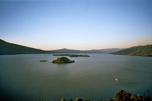 For six years (1941-1947) Onslow Ford and Johnson lived in Erongaricuaro, a remote village populated by the Tarascan Indians and located on the shores of Lake Patzcuaro. While living there, they created, studied, and learned the native way of living and participated in some native ceremonies.