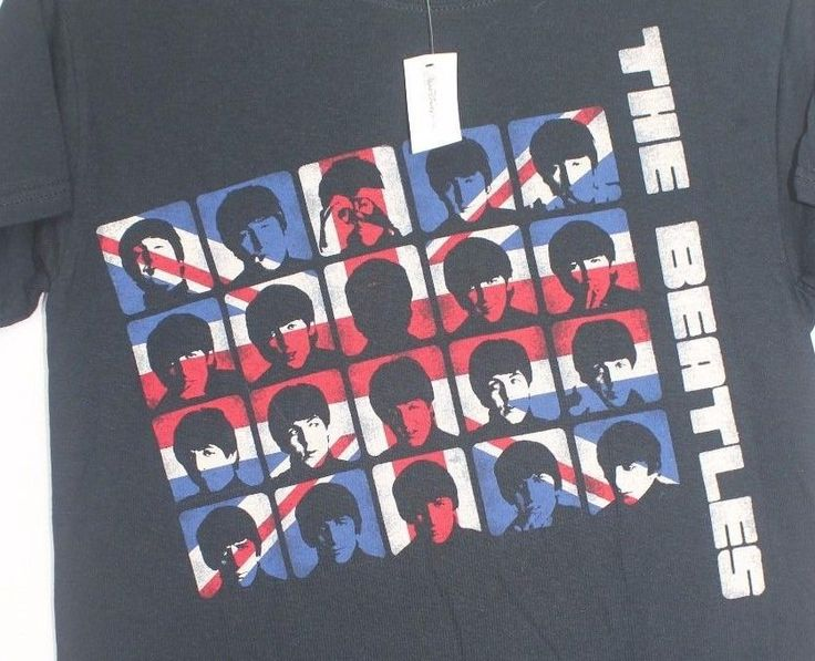 NWT THE BEATLES S/S TEE MEN'S SMALL BY APPLE CORPS BLUE #THEAPPLECORPS #GraphicTee