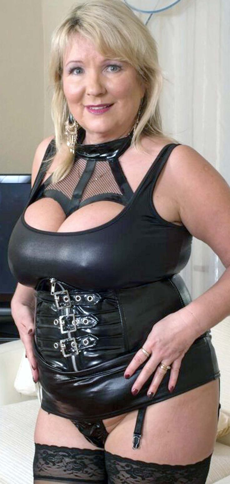 Busty latex fetish girls