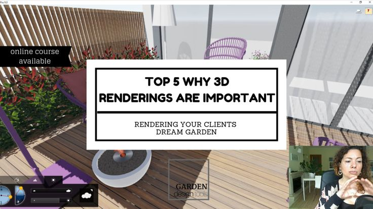 TOP 5 Why 3D renderings are important! | Garden tools ...