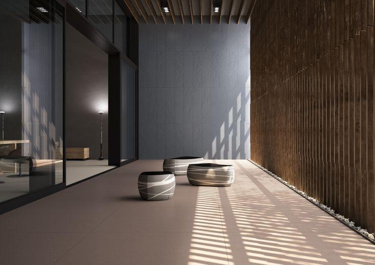 Vkusné velkoformátové matné obklady ICON | Keramika Soukup