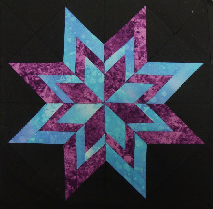 Free Quilt Patterns And Blocks : Free 10 Quilt Block Patterns Nifty Fifty Quilters of America Carol Doak s Paper-pieced Star ...