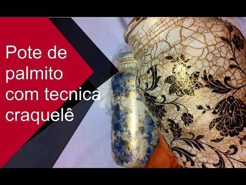 DECORAÇÃO COM POTE DE VIDRO Marmorizado com Revista Velha - Artesanato c/ Reciclagem - YouTube