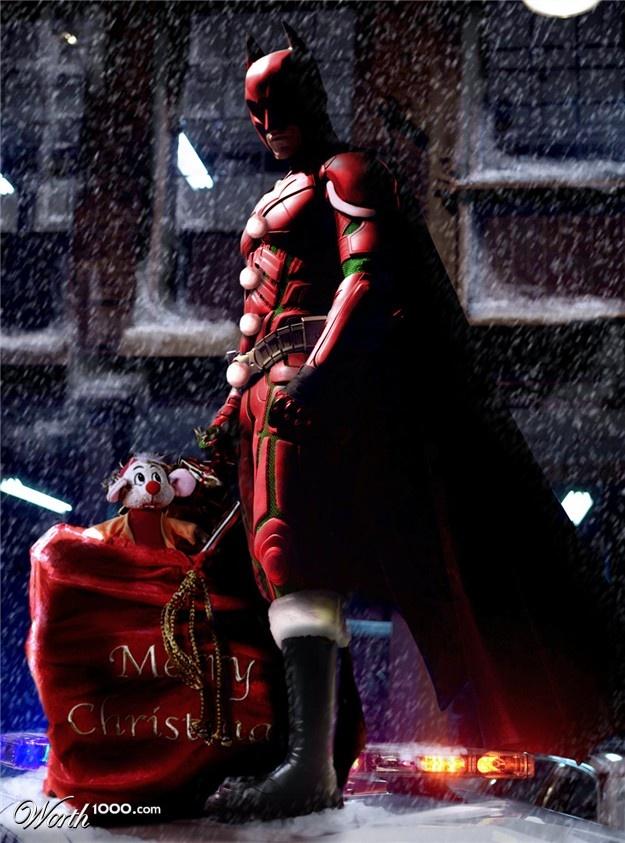 Christmas Knight | Superhero Christmas | A christmas story ...