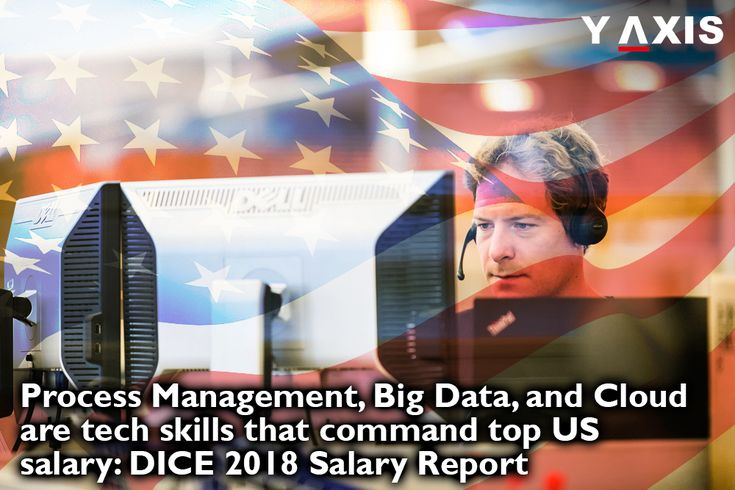 #ProcessManagement, #BigData, and #Cloud are the #techskills that command top #USsalary as revealed by the #DICE 2018 Salary Report and aspiring tech immigrants to the #US must not miss it. https://www.y-axis.com/overseas-jobs/process-management-big-data-cloud-are-tech-skills/
