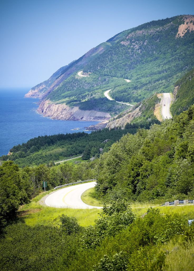 Cabot Trail. Cape Breton Highlands National Park, Nova Scotia. | Flickr - Photo Sharing!