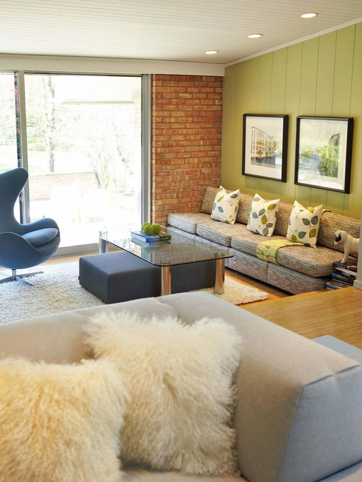 25 Midcentury Living Room Design Ideas