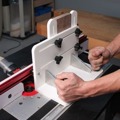 Router Sled Vertical