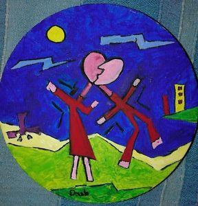 Le-baise-acrilic-on-canvas-cm-15-2015