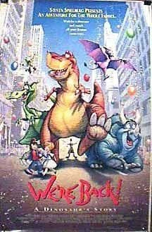 We're Back! A Dinosaur's Story 1993