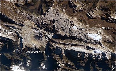 Grasberg mine - Wikipedia, the free encyclopedia