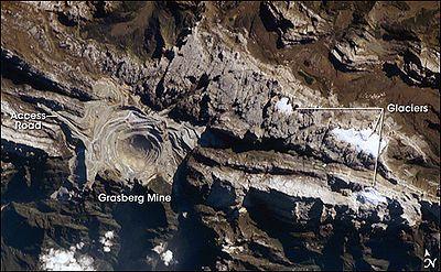 Grasberg mine - Wikipedia, the free encyclopedia