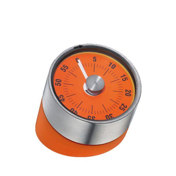kitchen timer orange