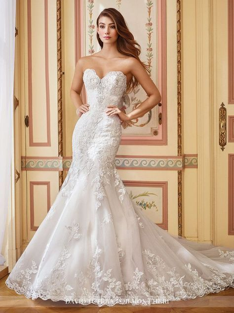 Embroidered Schiffli Lace on Tulle over Organza & Satin - Final Sale A post shared by All Dressed Up Bridal Prom Tux (@alldresseduphixson) on Feb 25, 2017 at 7:46am PST