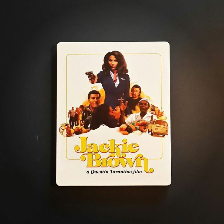 "Обзор  Blu-ray ""Джеки Браун"" / ""Jackie Brown"" Zavvi Exclusive Limited St..."