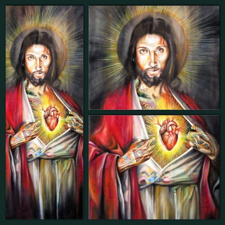 'When my flesh and heart fails' Oil painting by Warren Petersen