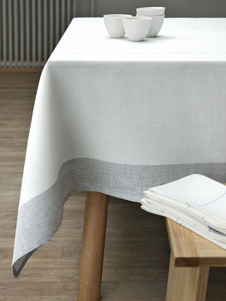 Flawless. The Martha table linen collection from Alfred now at Linenproject.com