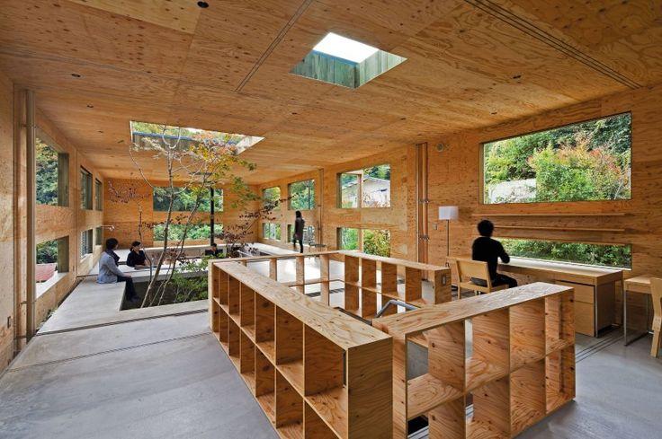 nest hei t dieses haus das die japanischen architekten von uid geplant haben architecture. Black Bedroom Furniture Sets. Home Design Ideas