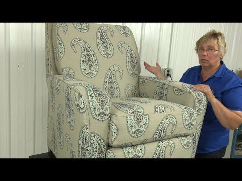 How to Reupholster a Recliner | Do-It-Yourself Advice Blog.