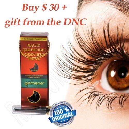 DNC Gemene growth stimulant eyelash oil 10 ml + BONUSES!!!