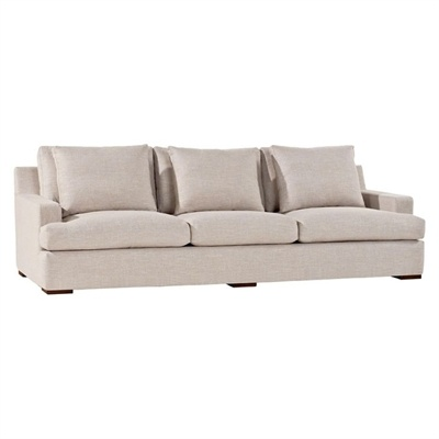 Penthouse 3-Seater Sofa, Clay Modern Furniture