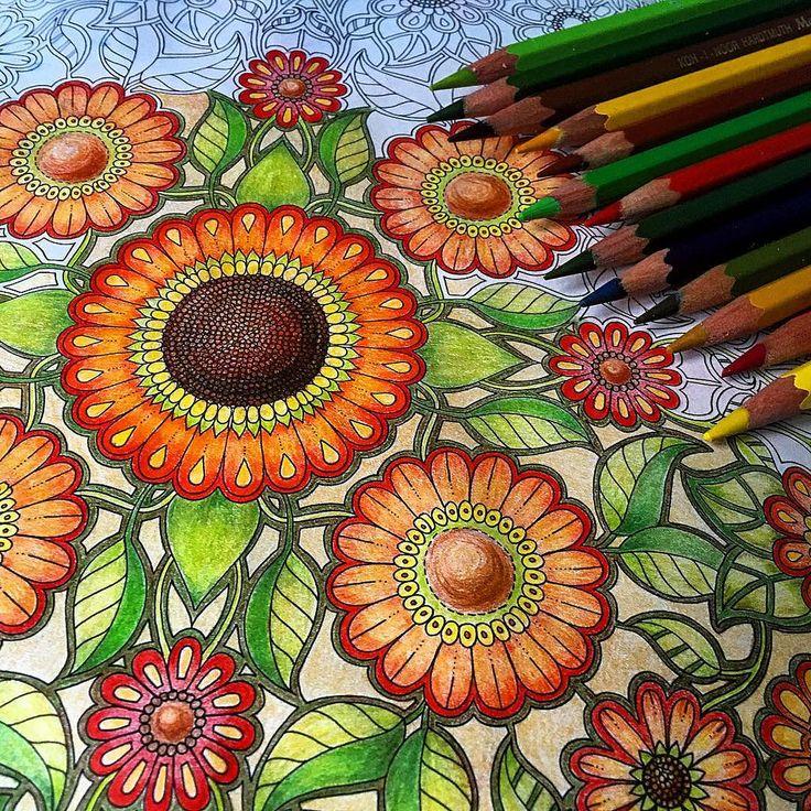 #secretgarden #johannabasford #раскраска #раскраска ...