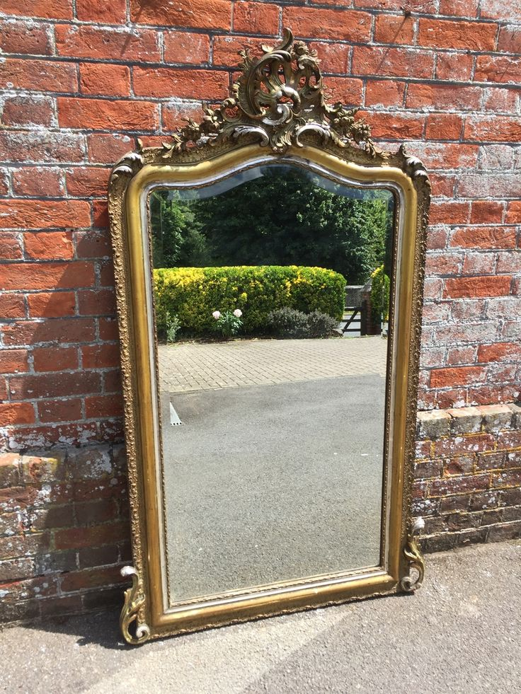 54 Best Antique Silvered Mirrors Images On Pinterest