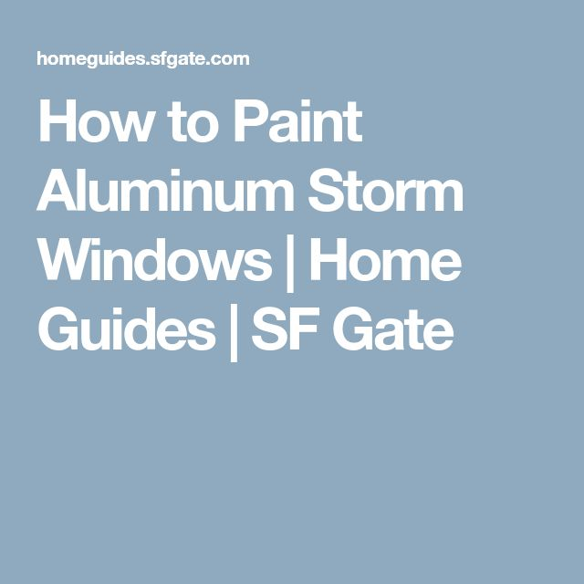 Best 25 Aluminum storm windows ideas on Pinterest