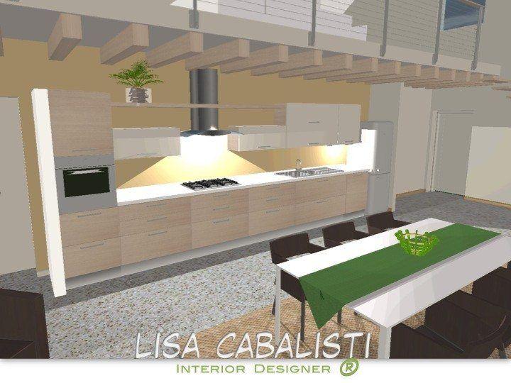 Progetto cucina, Vicenza, Lisa Cabalisti