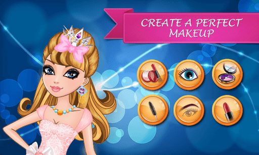 Apply makeup on a star blonde girl! Dress up a little cutie, give a beautiful makeover to the fairy princess, create a make-up for the girl you love.<p>Little blonde girl is ready to be a movie star! Prepare the model, let the beauty queen have the makeup