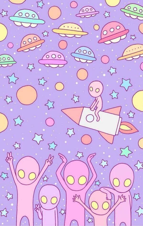 徳田有希 壁紙イラスト宇宙人 完全無料画像検索のプリ画像