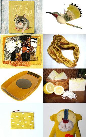 Sweet Lemon by talma vardi on Etsy--Pinned with TreasuryPin.com