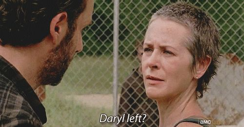 Pin for Later: 22 Times You Wanted Daryl and Carol to Be a Thing So Badly When Carol's All Worried About Daryl
