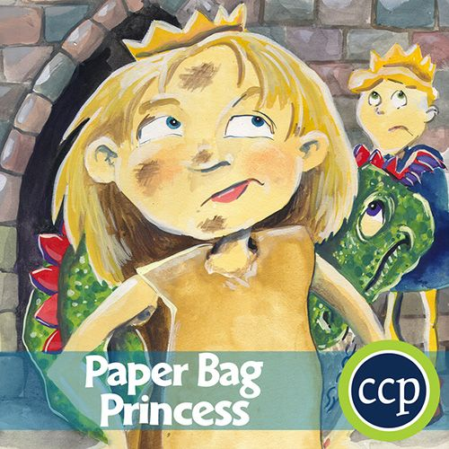 114 best novel study guides images on pinterest close reading a literature kit for the novel paper bag princess written by robert munsch students become engaged in the novel by discussing the reactions of its fandeluxe Images