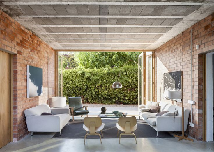 Amazing House 1101 By H Arquitectes Has Rooms That Double As Covered Patios