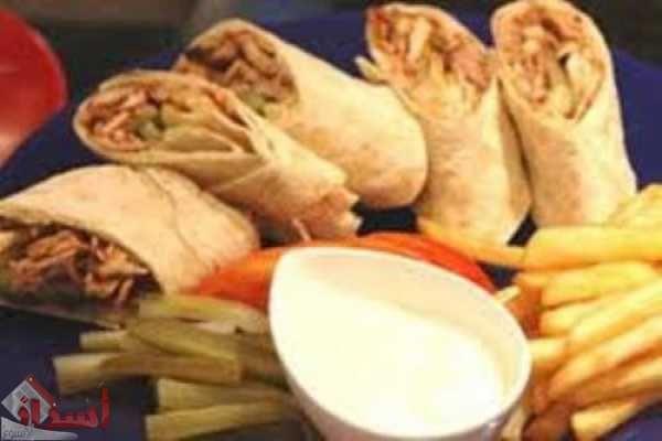 طريقة اعداد شاورما الدجاج اللبنانية