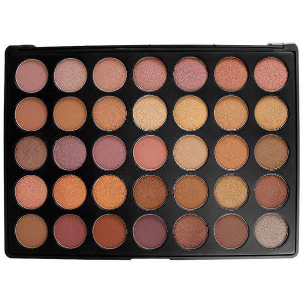 Morphe 35-Color Taupe Palette found on Polyvore featuring beauty products, makeup, eye makeup, eyeshadow, mineral eye shadow, mineral eyeshadow and palette eyeshadow