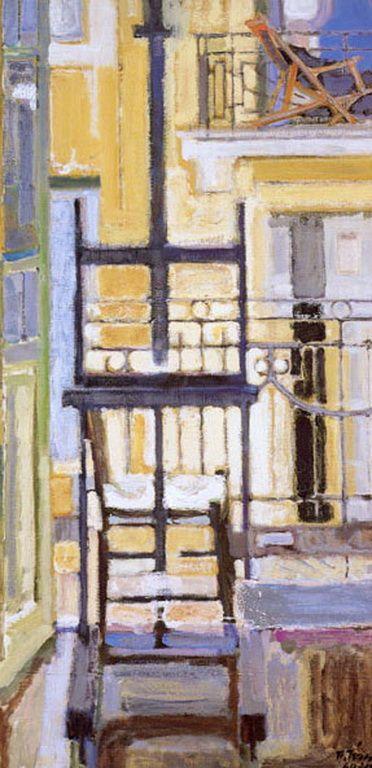 Παναγιώτης Τέτσης - Panagiotis Tetsis (b. 1925, Greek painter).