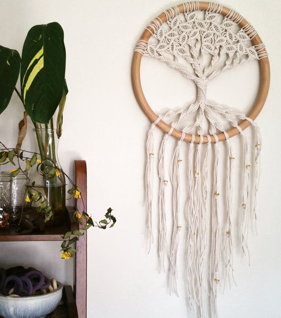 Tree of Life Macrame Wall Hanging
